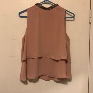 Zara too with beaded neck line size small